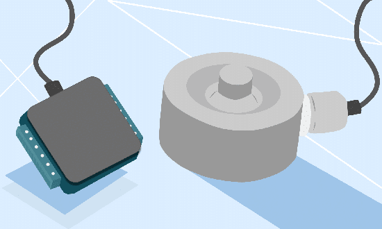 Connecting a Force Sensor to a DAQ