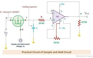Figure 4. A Practical S-H circuit