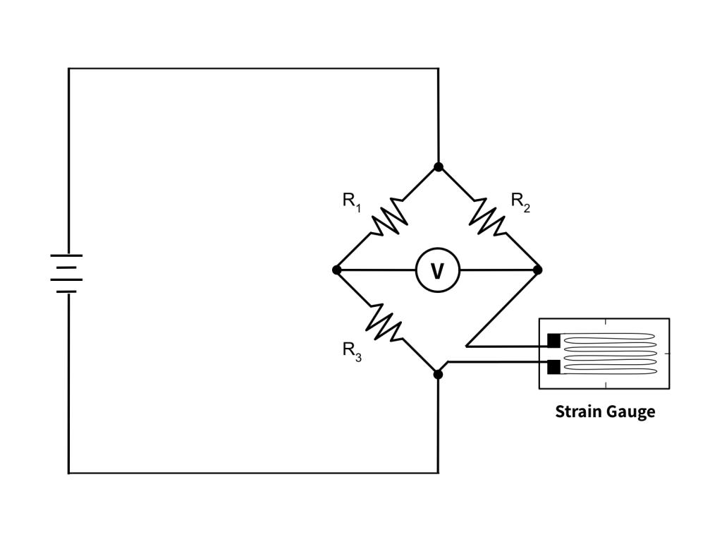 Figure 3. Quarter bridge configuration